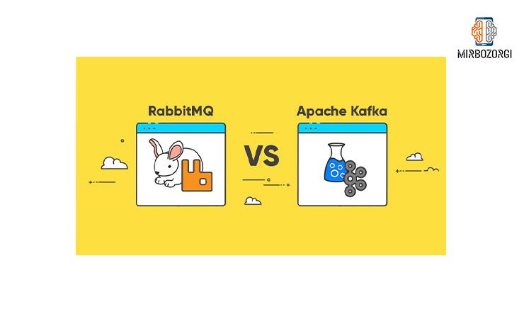 مقایسه ی RabbitMQ و Kafka
